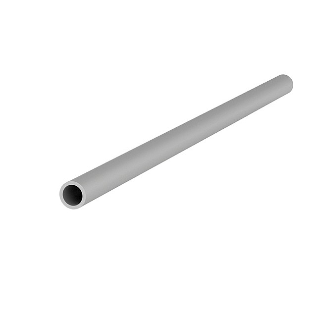 ALUMINUM ROUND TUBE D.8x1mm ANODISED